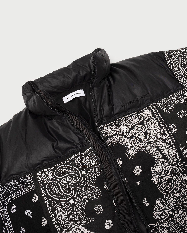 Miyagihidetaka Bandana Vest Black - Image 5