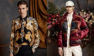 Lucky Blue Smith Fronts the KITH x Versace Men's Campaign