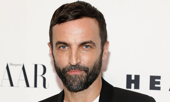 Nicolas Ghesquiere at Louis Vuitton event