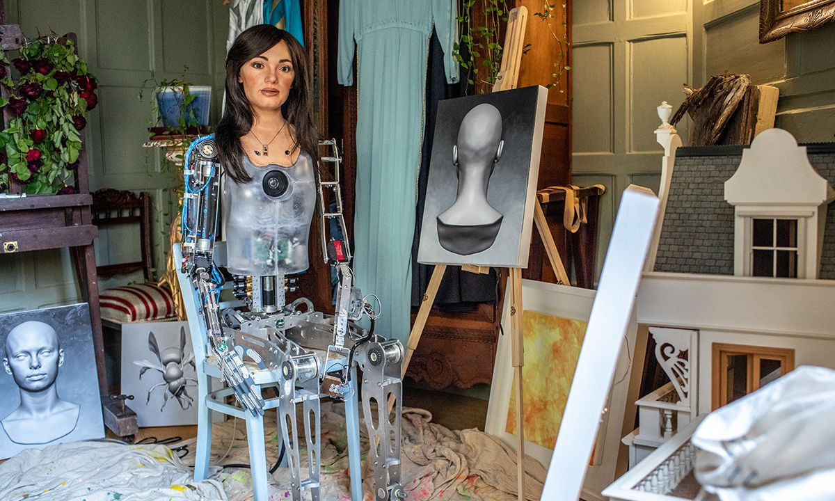 AI Robot Artist Ai-Da to Perform at Tate Exchange Workshops