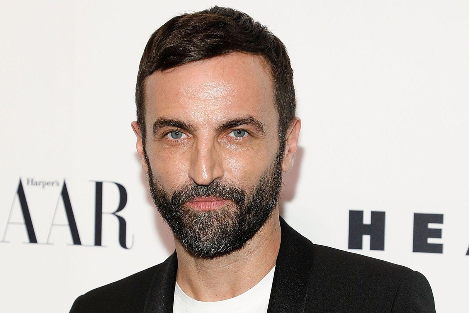 Nicolas Ghesquiere at Louis Vuitton event