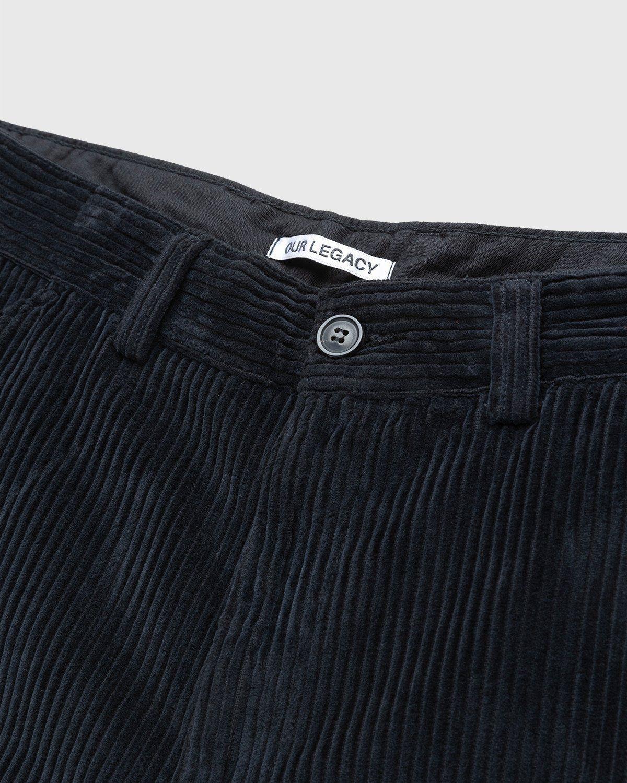 Our Legacy – Chino 22 Black Corduroy - Image 3