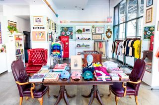 clearance sale pretty cool sale Take an Inside Look at Rowing Blazers NYC Pop-Up Store