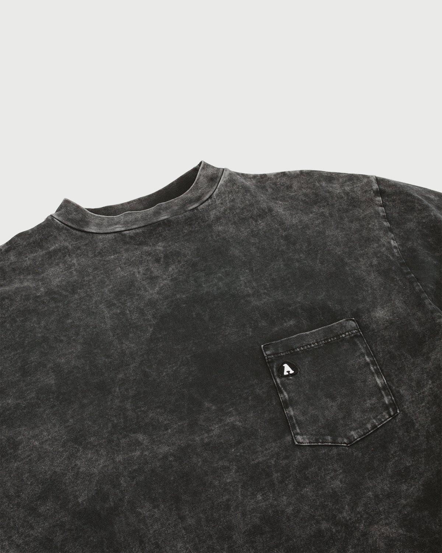 Aries - Acid Wash Pocket Tee Black - Image 2