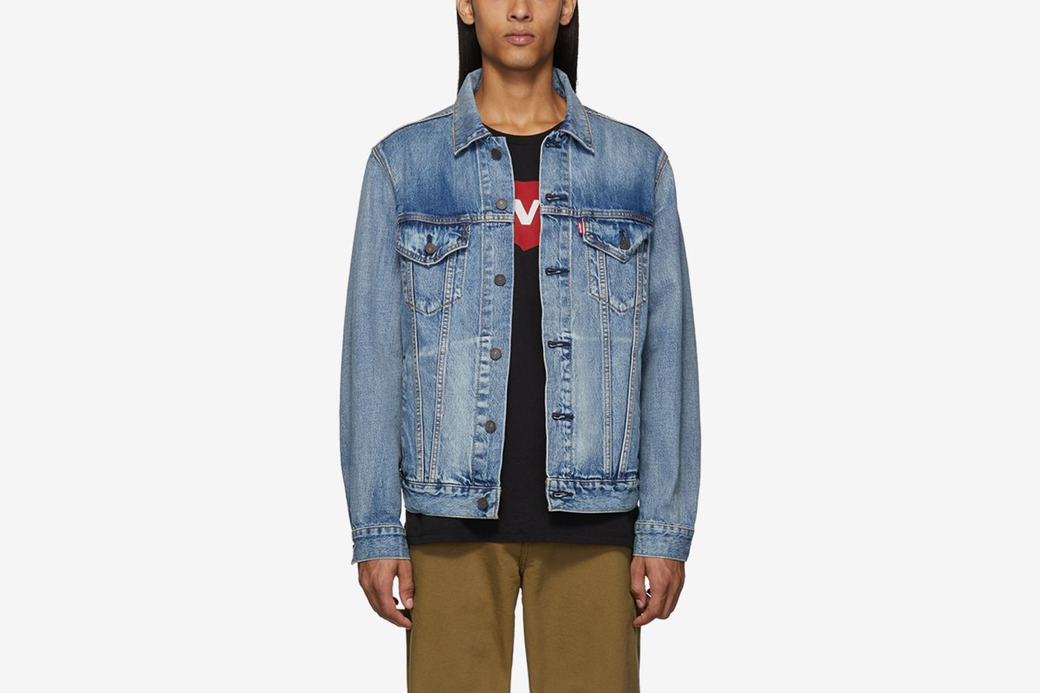 Denim Vintage Fit Trucker Jacket