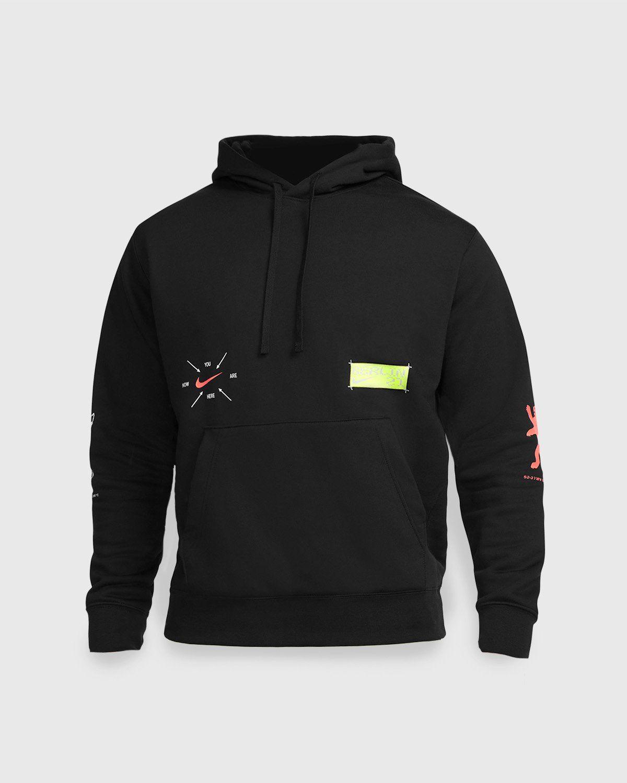 Nike x Highsnobiety – Berlin Club Fleece Hoodie Black  - Image 1