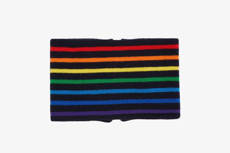 Black Rainbow Stripe Neckband