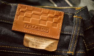 Tellason for House Industries Cycling Denim