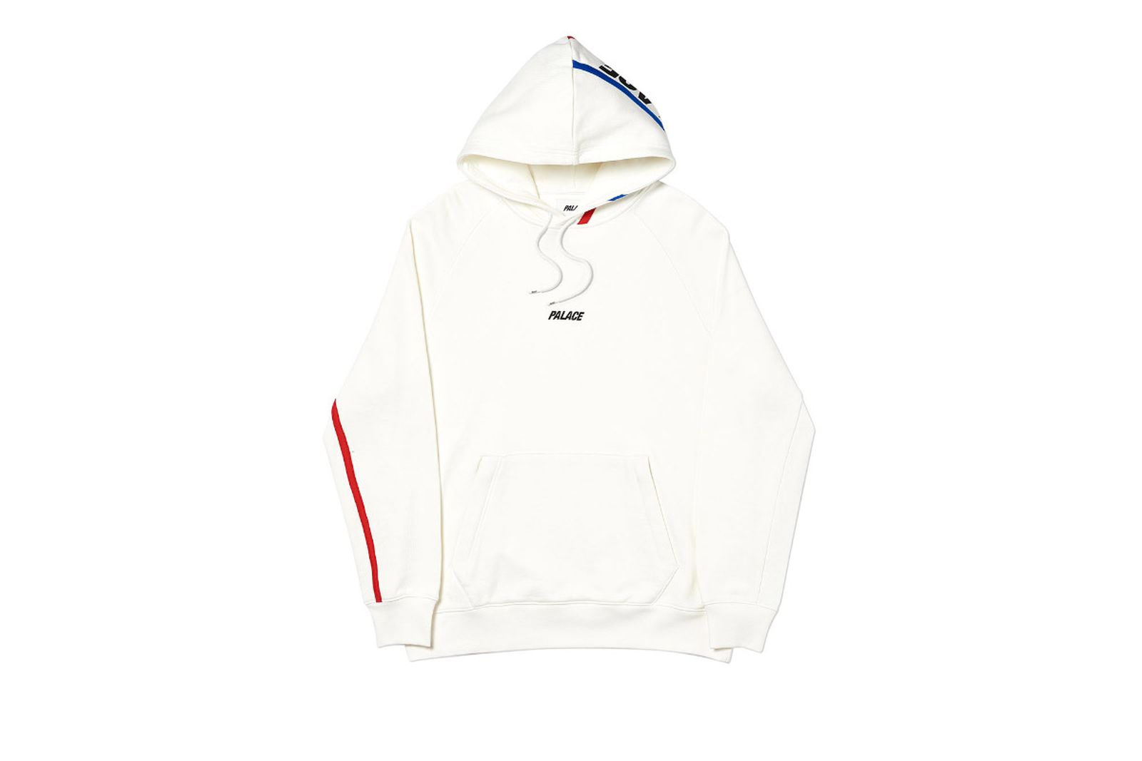 Palace 2019 Autumn Hood Dome White Front