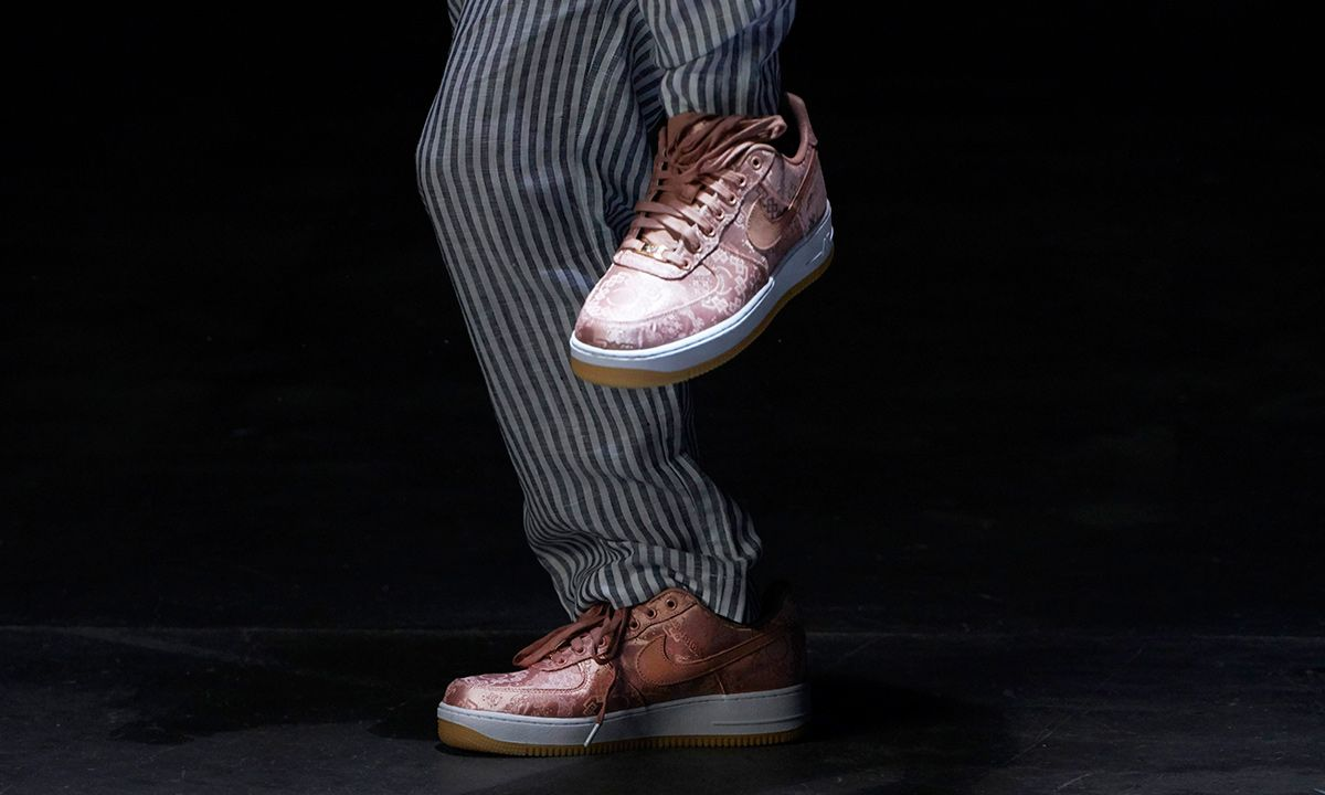 "CLOT x Nike Air Force 1 ""Rose Gold Silk"": Official Release Info"
