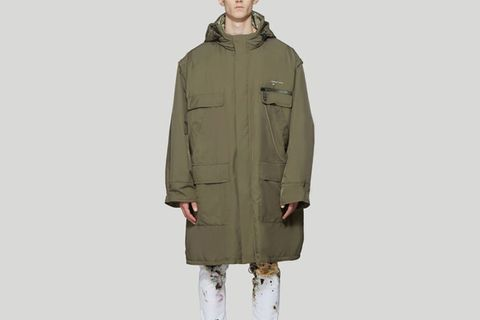 Removable Sleeve Parka