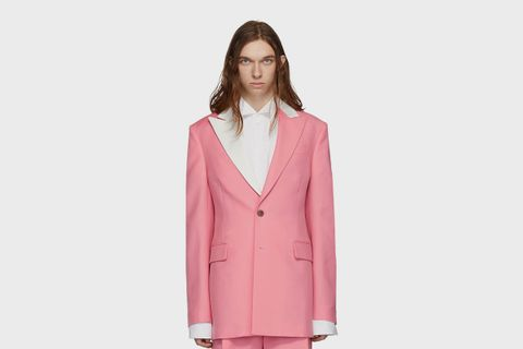 Pink 2BT Tuxedo Jacket