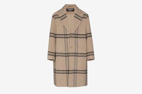 Le Manteau Single-Breasted Coat