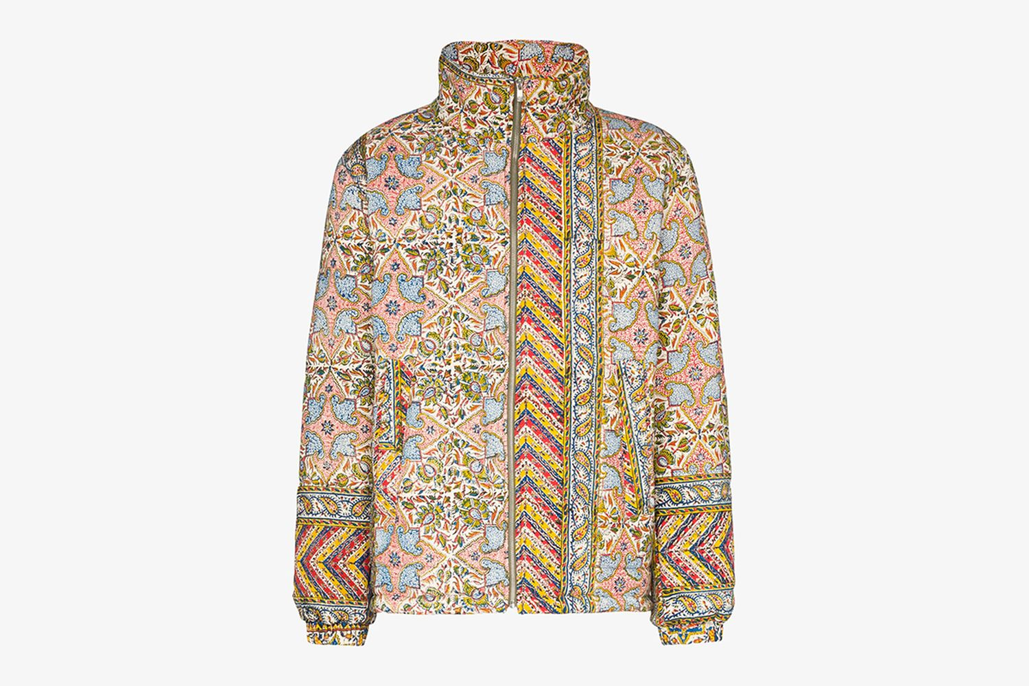 Iranian Print Quilted Jacket