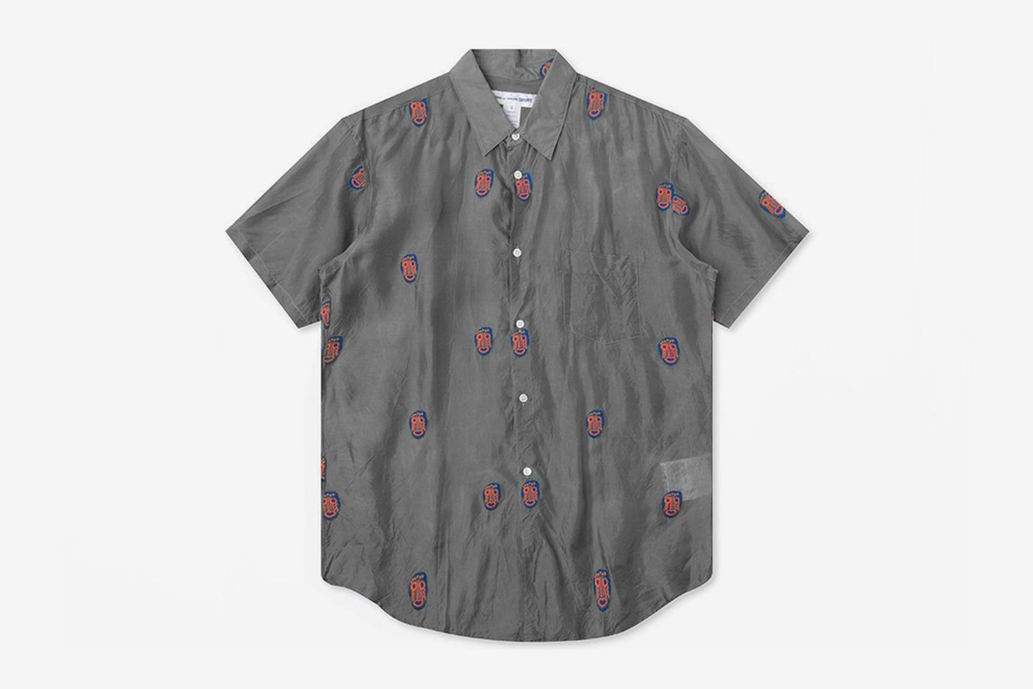 Mask Embroidered Shirt