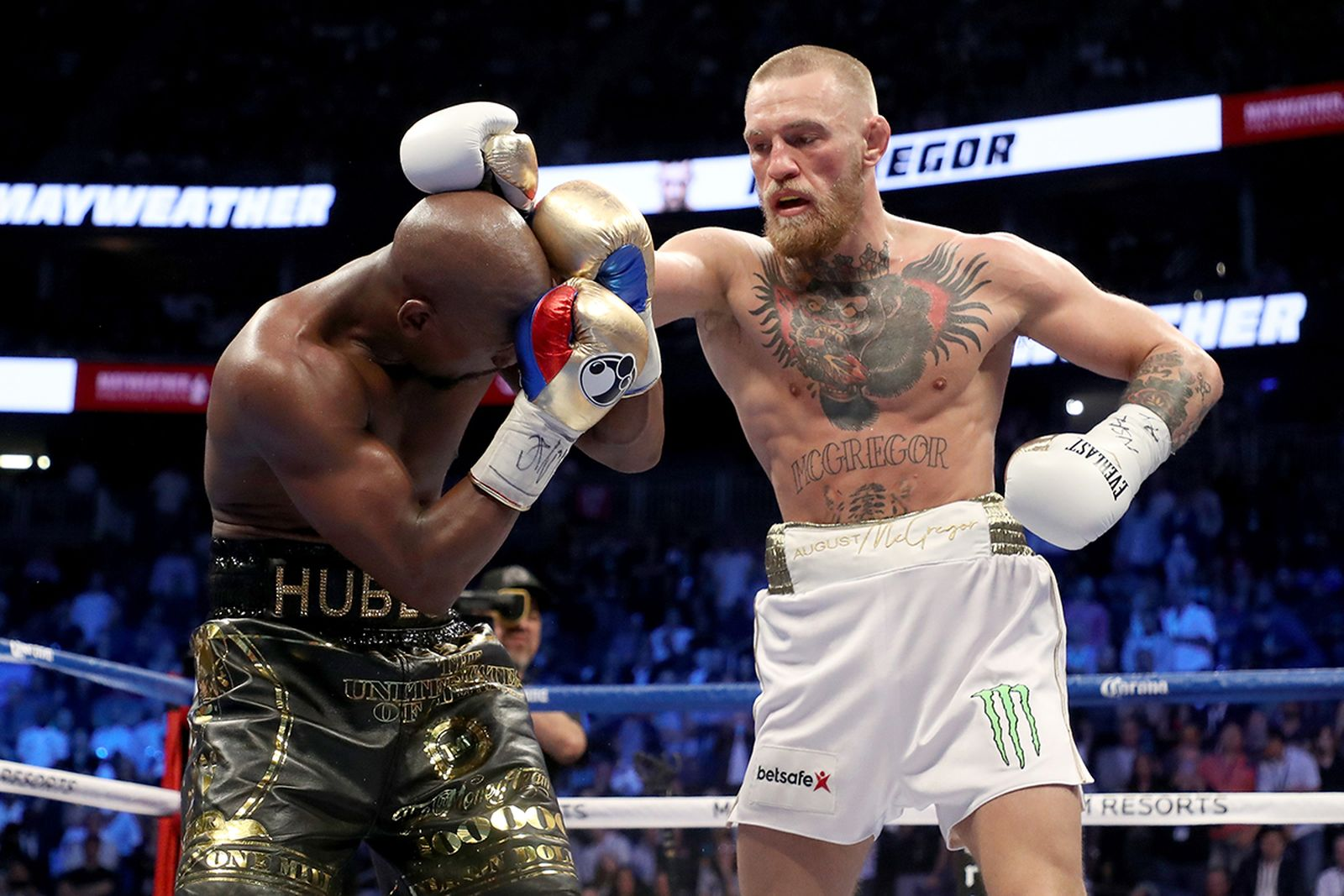 Conor McGregor Floyd Mayweather boxing match