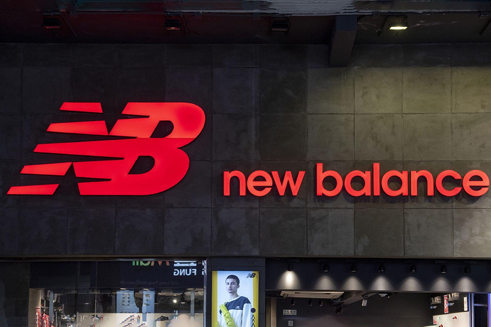 New Balance store seen in Hong Kong