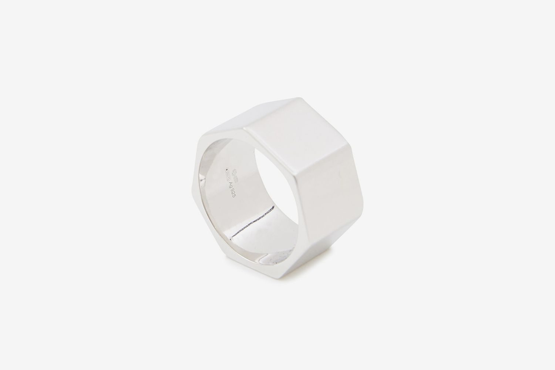 Heritage Heptagon Ring
