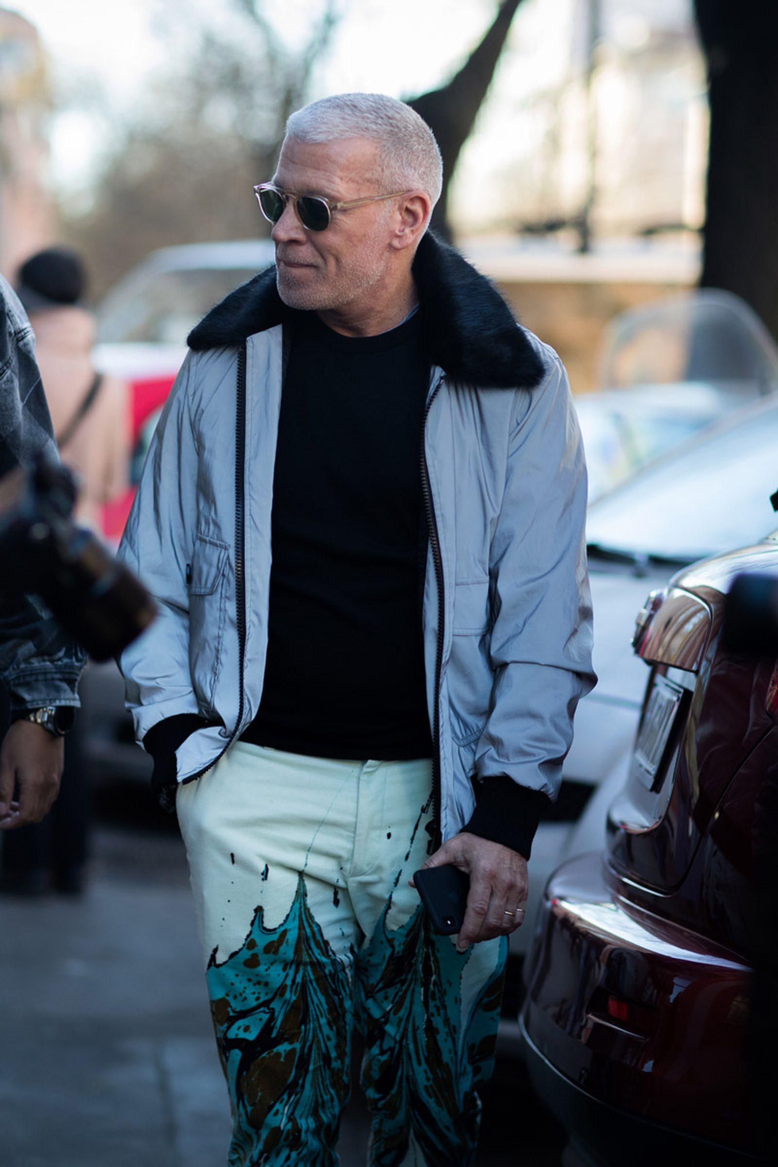 11milan fashion week street style 032c HBA x Colmar Supreme