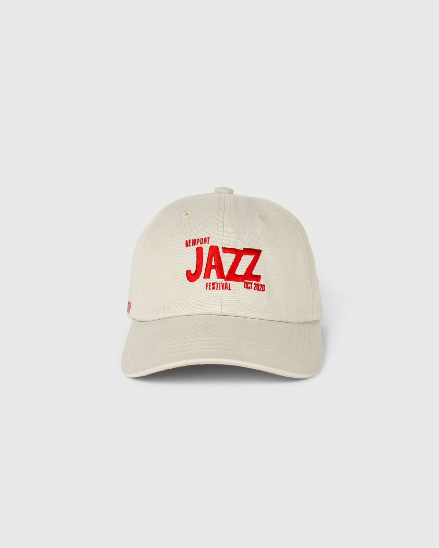 Newport Jazz Logo - Cap Beige - Image 1