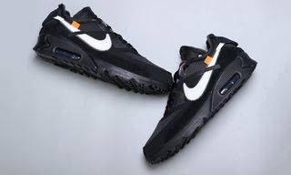Black OFF-WHITE x Nike Air Max 90 Rumored to Drop in January. Sneakers bf656b3d5