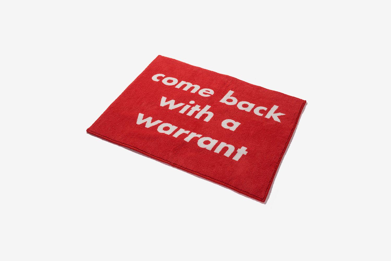 NHFU Warrant Mat