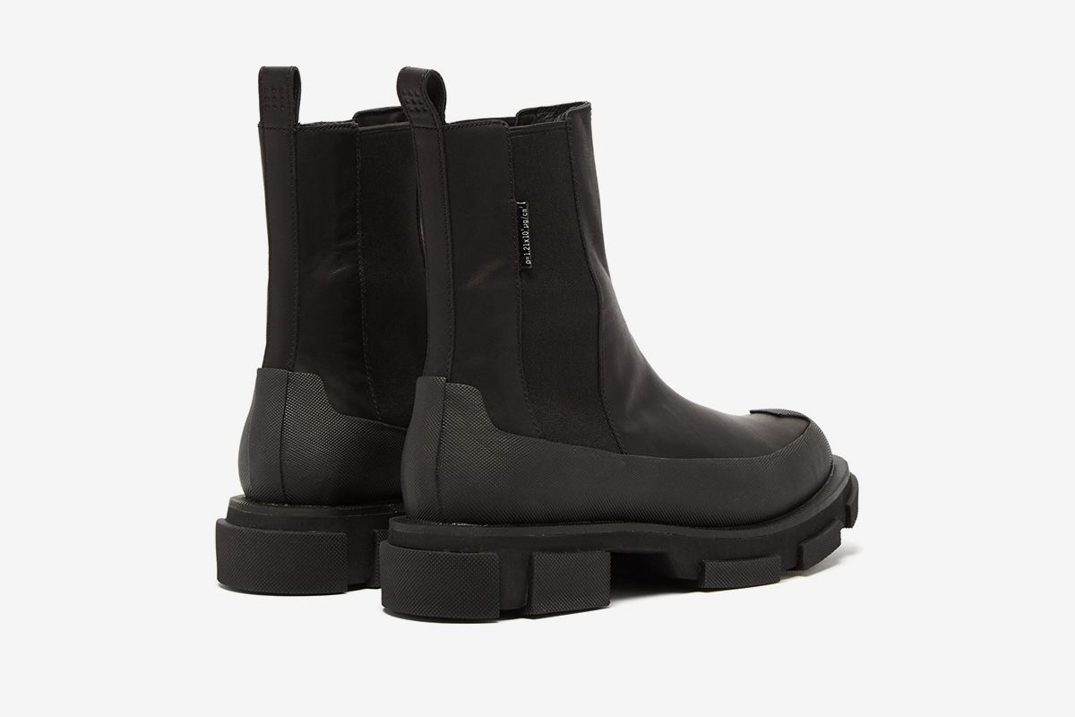 Gao Exaggerated Leather Boots