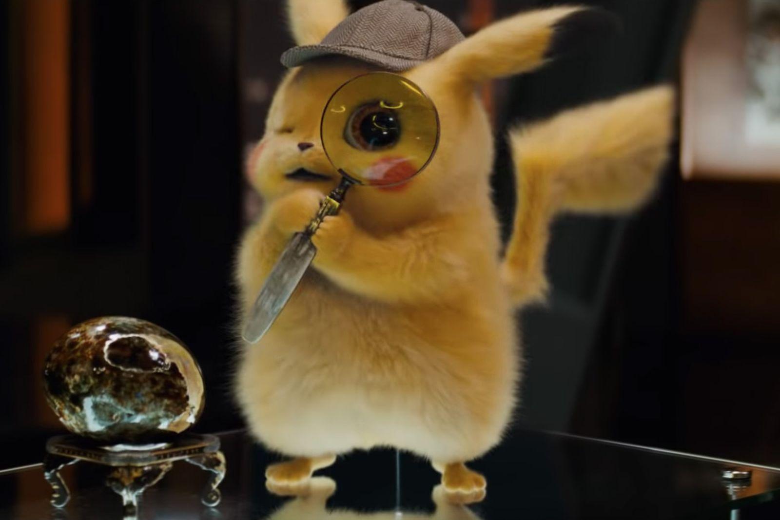 detective pikachu reactions Twitter reactions