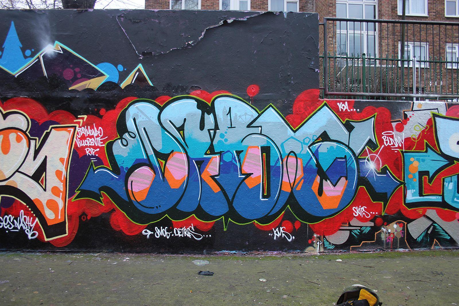 Drax, Stockwell, South London, circa 2015
