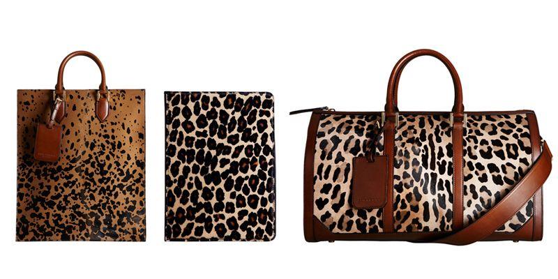 8e4f698e37 Burberry Prorsum 2013 Fall/Winter Leopard Print Accessories   Highsnobiety