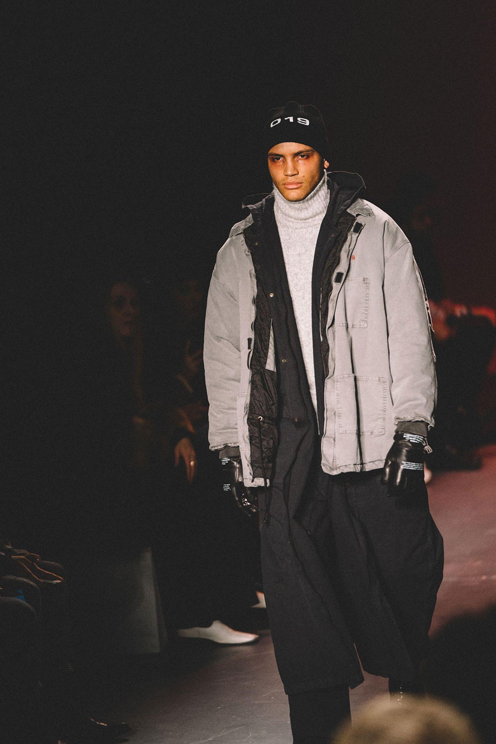 Willy Chavarria fw18 menswear new york fashion week runway