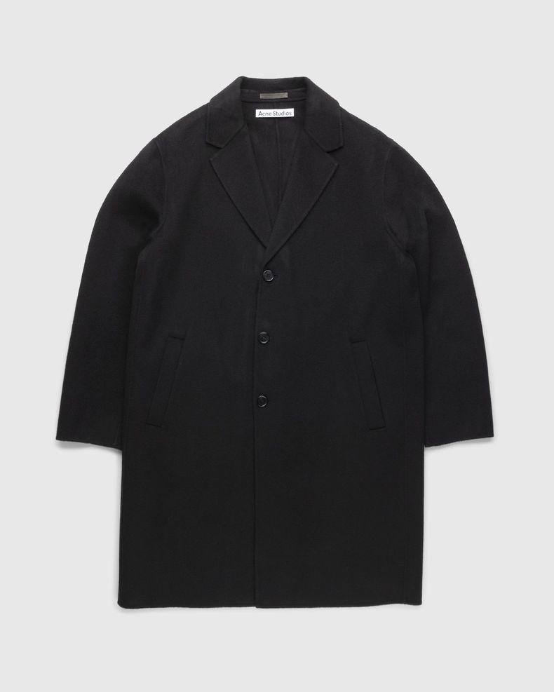 Acne Studios – Doubleface Coat Black