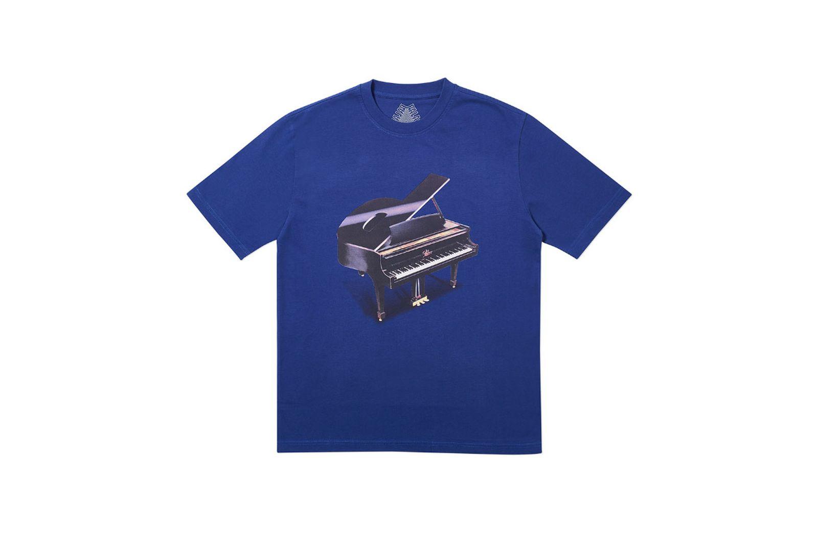 Palace 2019 Autumn T Shirt Grand blue