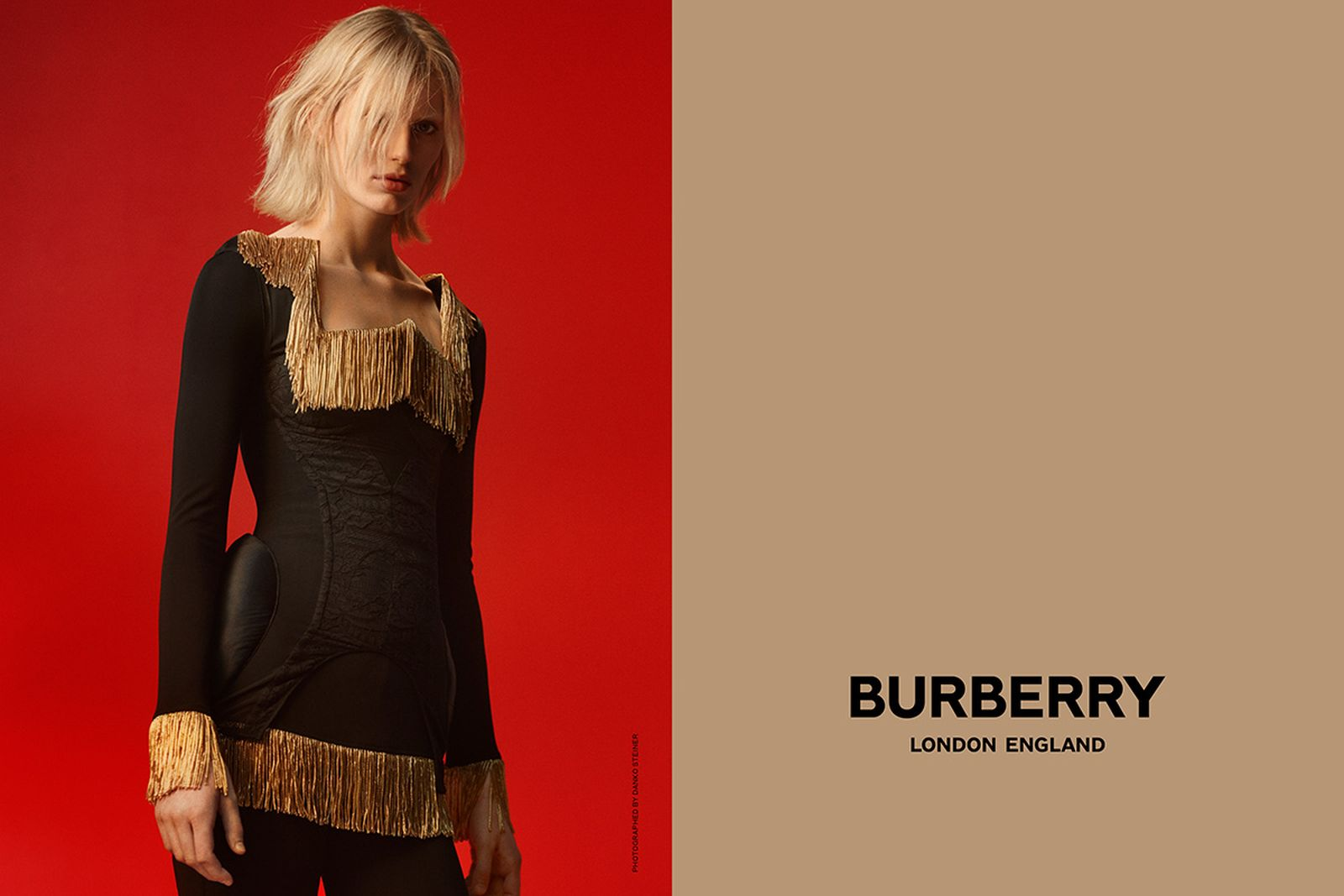 burberry ricardo tisci first campaign riccardo tisci