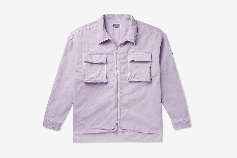 Oversized Cotton-Corduroy Shirt Jacket