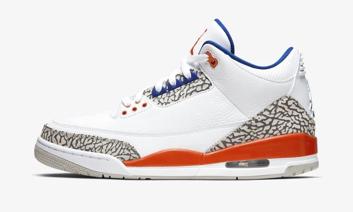 Spike Lee Will Love This Knicks-Themed Nike Air Jordan 3