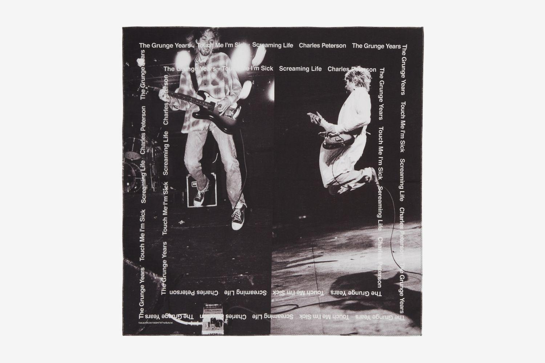 Kurt Cobain Scarf