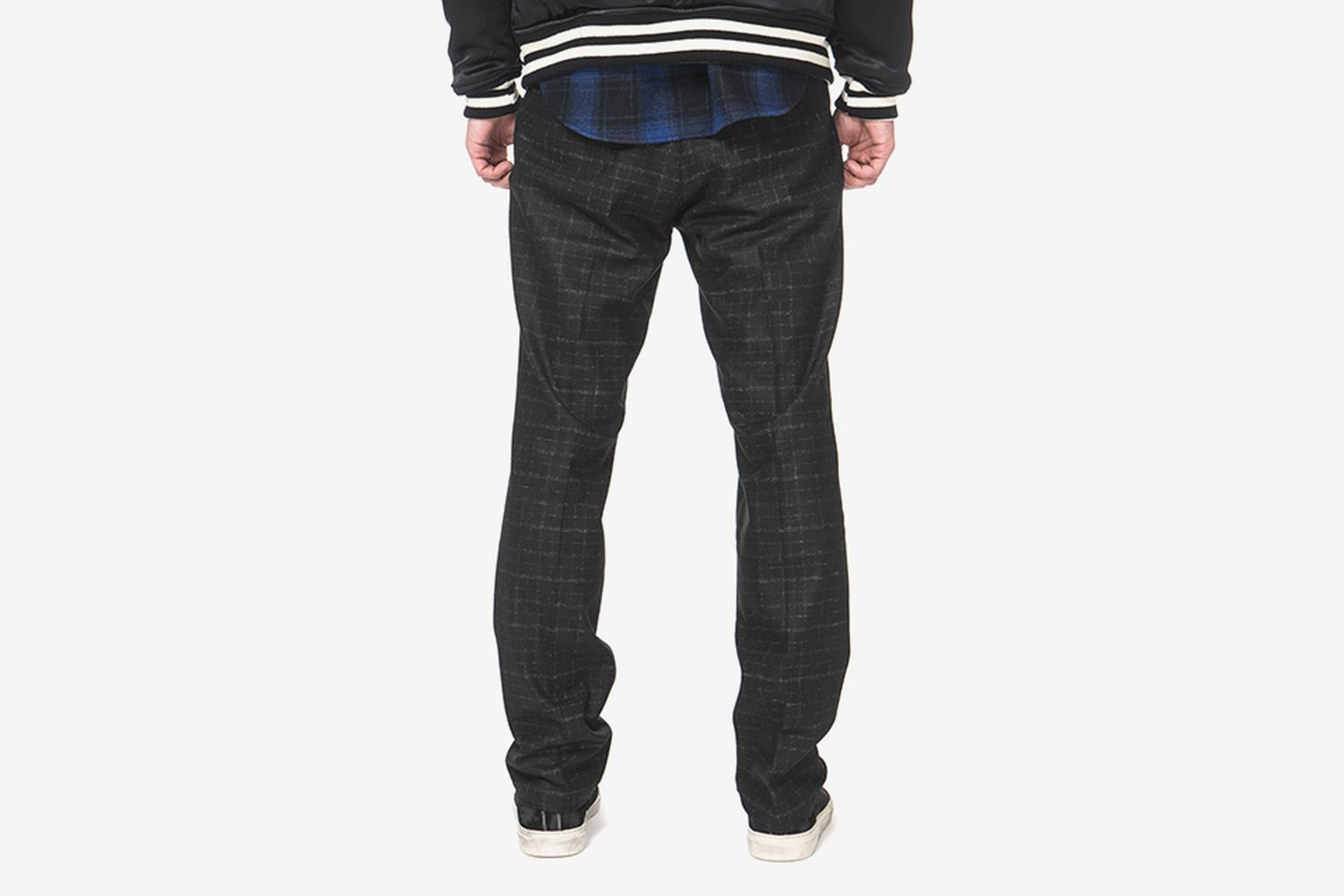 Blurred Check Skate Trousers