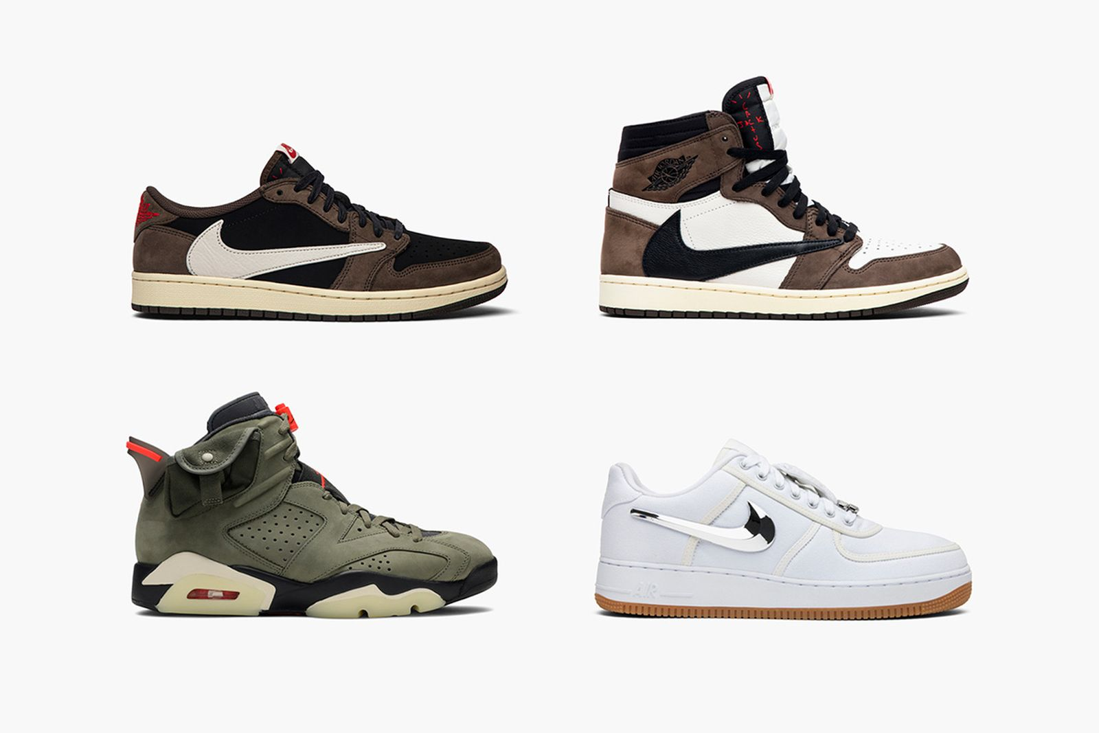 pecado simplemente cuenca  Cop All Travis Scott x Nike Sneaker Releases at GOAT