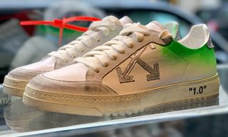 Take an Exclusive Look at the New OFF-WHITE Sneakers at Virgil Abloh's Paris Pop-Up