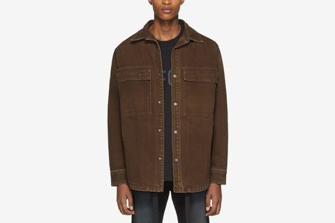 Canvas Shirt Jacket