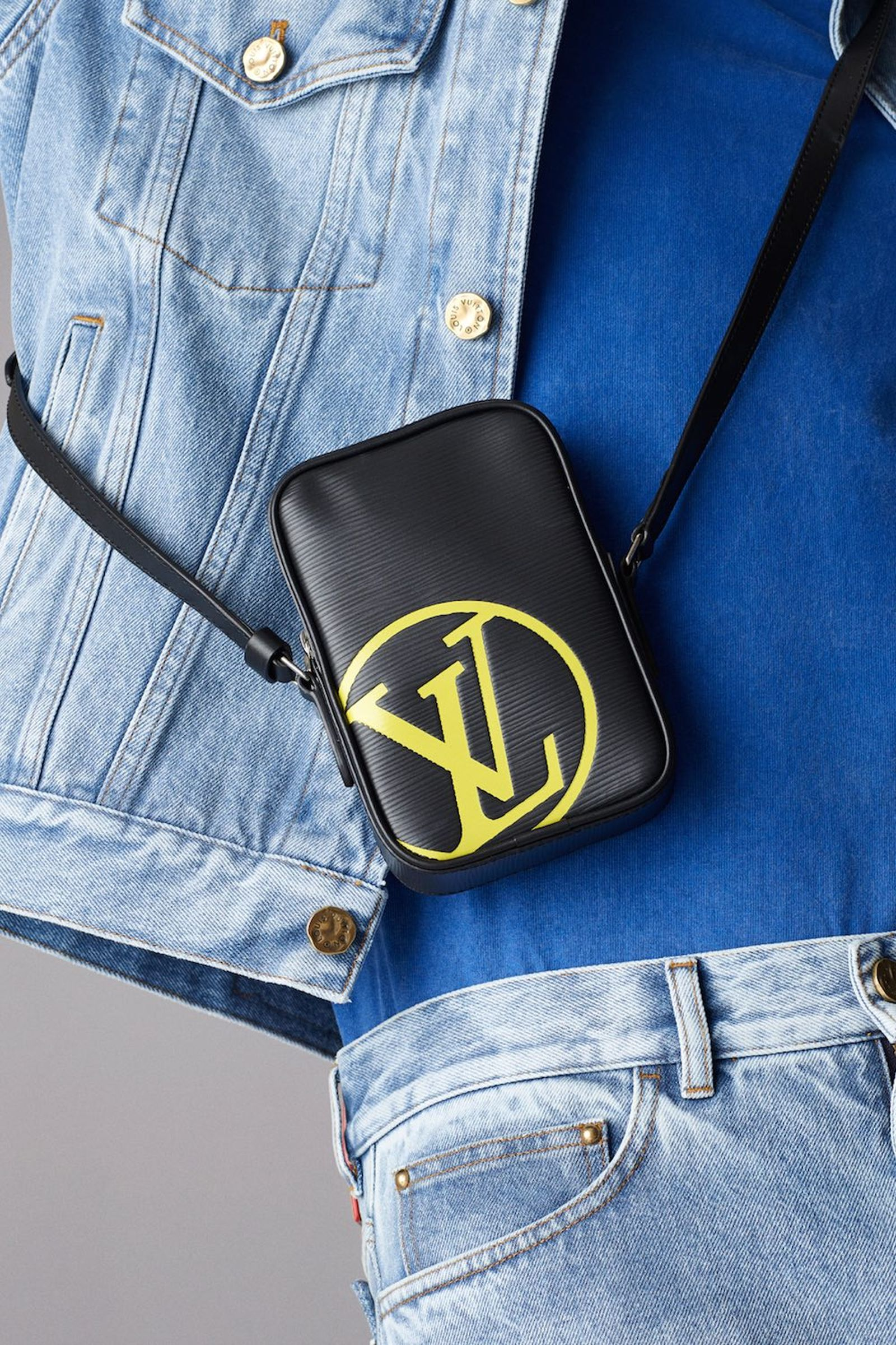 louis vuitton ss19 epi initials and patchwork accessories