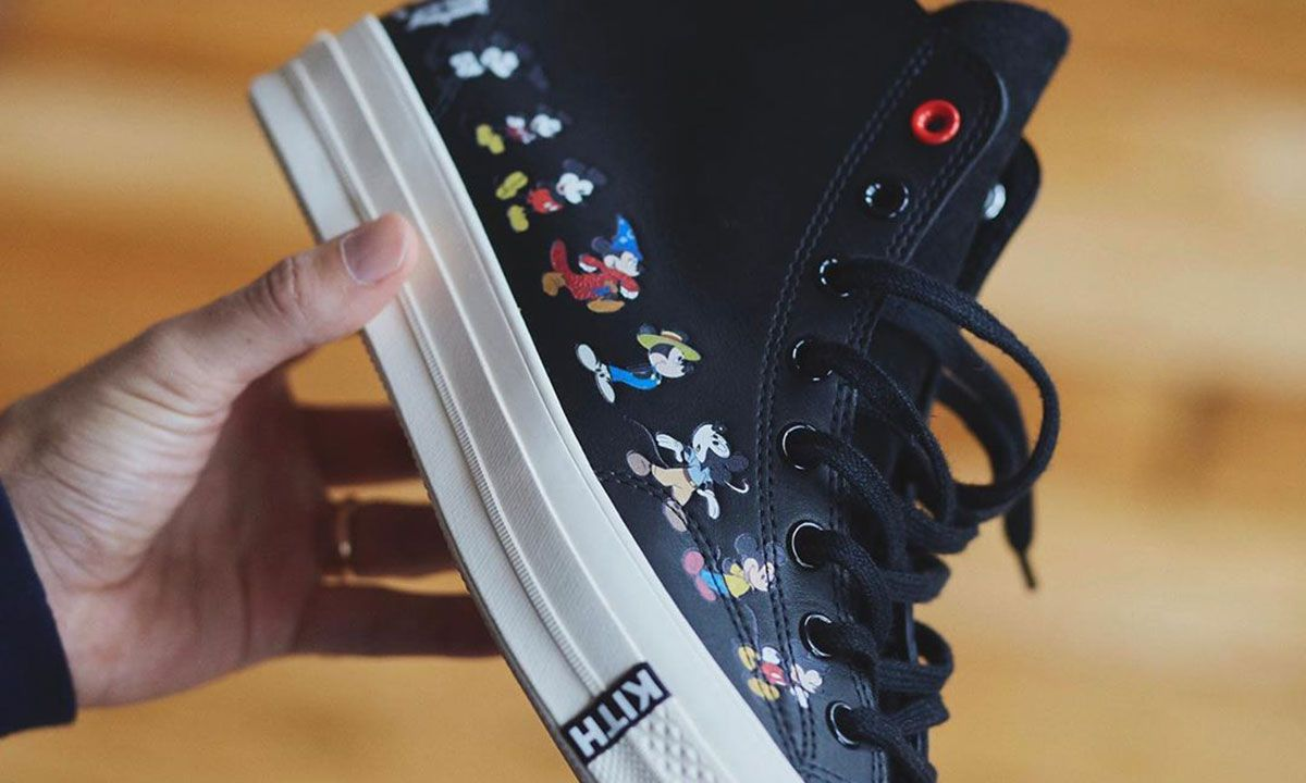 Here's Your First Look at KITH's Disney Collab: Converse, Apparel & More