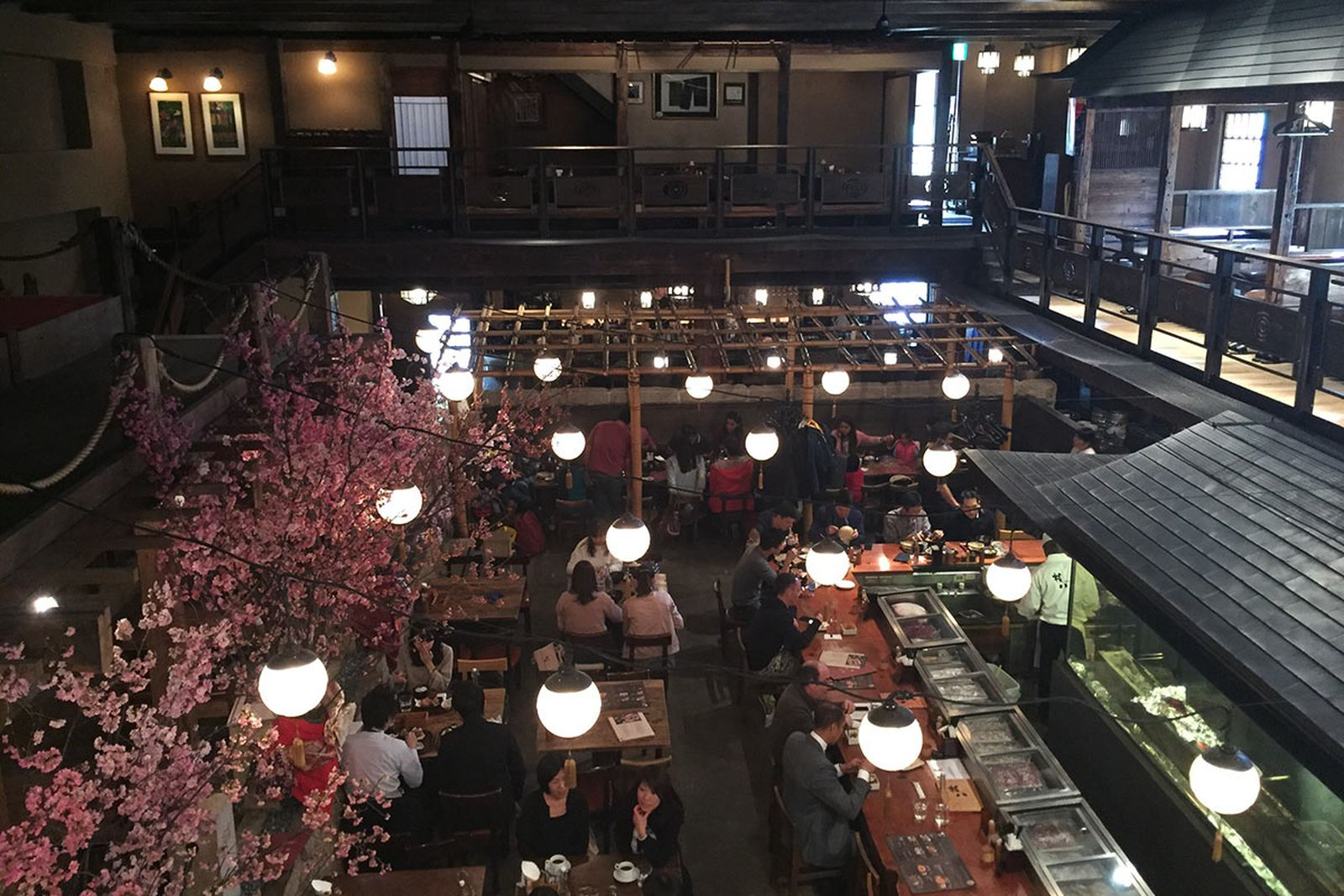 gonpachi prov the real mccoys have a good time