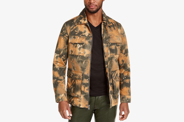 INC Men's Smith Camo Field Jacket, Created For Macy's