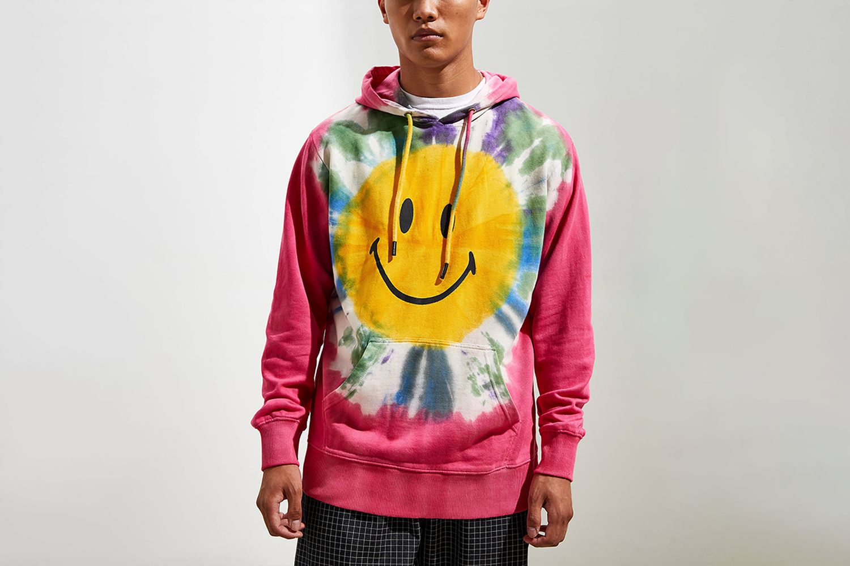 Tie-Dye Hoodie Sweatshirt