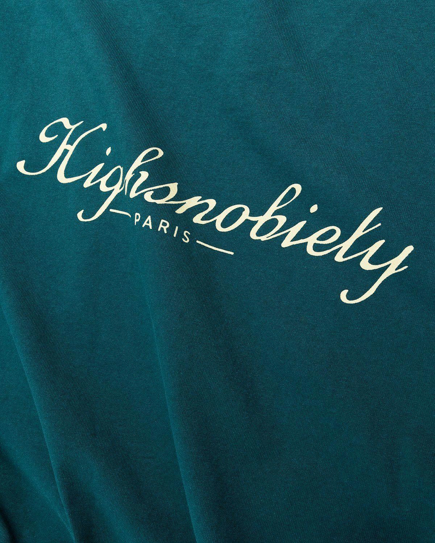 Highsnobiety — Not In Paris 3 x Café De Flore T-Shirt Green - Image 4