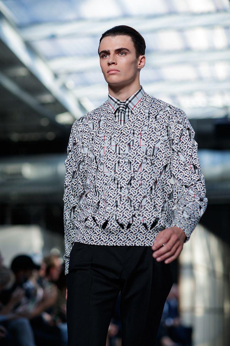 5 Key Menswear Trends From Burberry Ss19