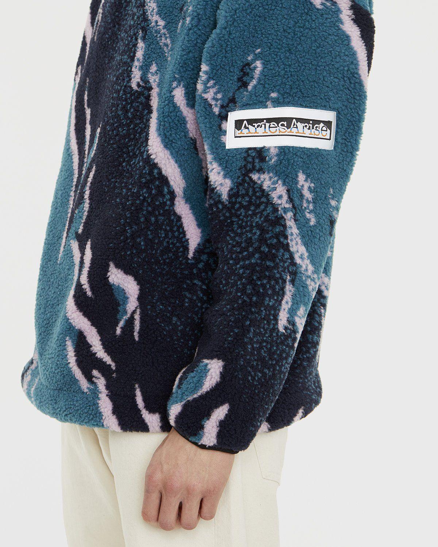 Aries - Oversized Fleece Hoodie Multicolor - Image 5