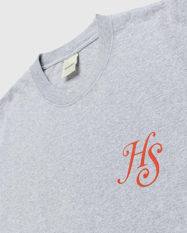 Highsnobiety – High Standards T-Shirt Grey - Image 3